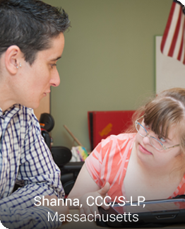 Shanna, a Futures professional working with a client.